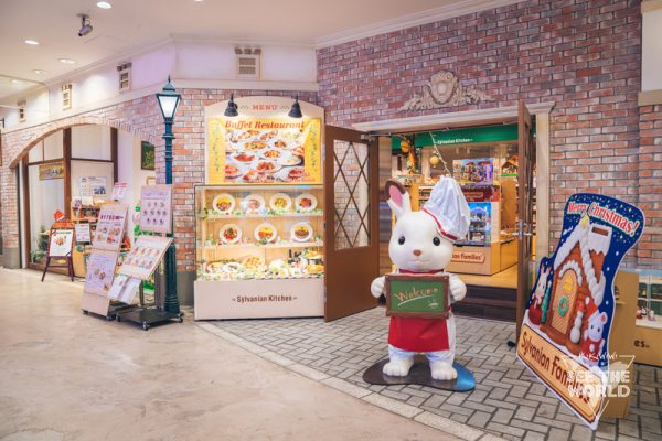 7Sylvanian Families Forest Kitchen