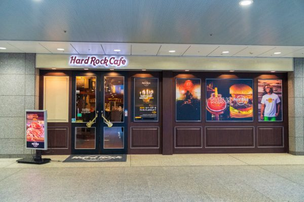 14 Hard rock cafe