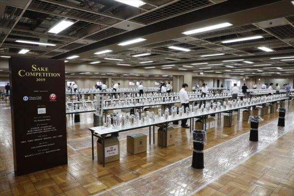 SAKE COMPETITION 2019评选的情形